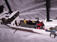 Deck, Taltus VII (MDilthey) Tags: sea classic star fighter ship space transport vessel cargo pirate cannon airship spaceship wars pivot masts vii gunship flagship mercenary taltus