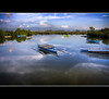 the morning reflection... ( seen on Explore ) (rev_adan) Tags: trip travel water clouds river boats island tour philippines swamp gb land cebu cordova pinoy mactan pinas revo bangka bisaya manggroves