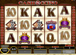 CashOcinno slot game online review