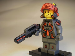 Arial Scout Trooper (CrazyBrck) Tags: marine lego custom jetpack minifigure brickarms