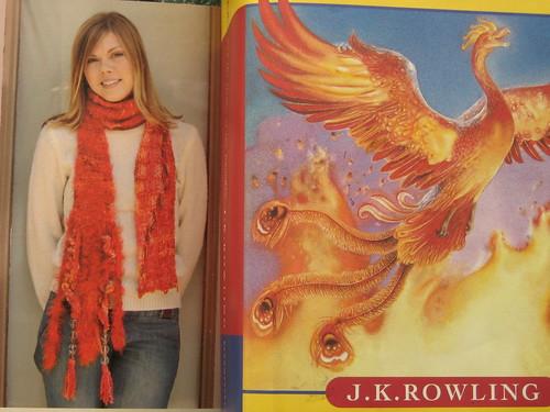 phoenix tears scarf