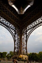 Eiffel Tower, south pillar