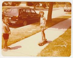 Sidewalk Surfin' in 1980