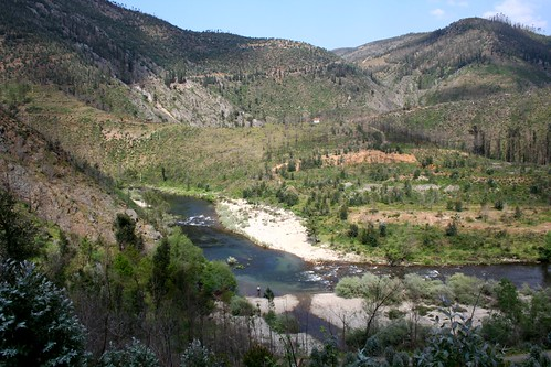Rio Paiva em Janarde - (Foto J. Amorim