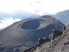 Mount Meru - Ash Cone (Day 3) (tik_tok) Tags: africa travel mountain digital canon landscape geotagged tanzania volcano cone a520 peak hike powershot climbing ash arusha 2007 canonpowershot meru mountmeru