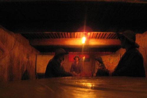 Underground planning bunker