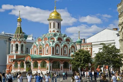כנסית קאזן הצמודה לכיכר האדומה, מוסקבה