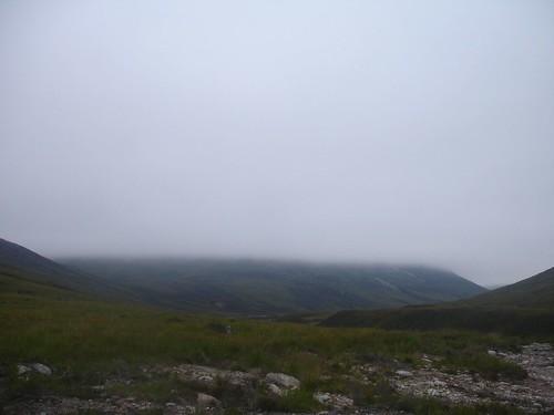Low Cloud over Glen Dee