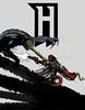 afiche Hellboy (Jugo de Naranjo) Tags: poster drawing shooting dibujo hellboy afiche disparo