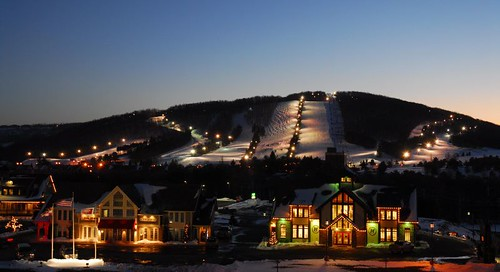 Wisp Resort night scene