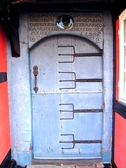 Door in rskbing (Jaedde & Sis) Tags: door old blue denmark doors liked r flickrchallengegroup photofaceoffwinner rskbing pfogold