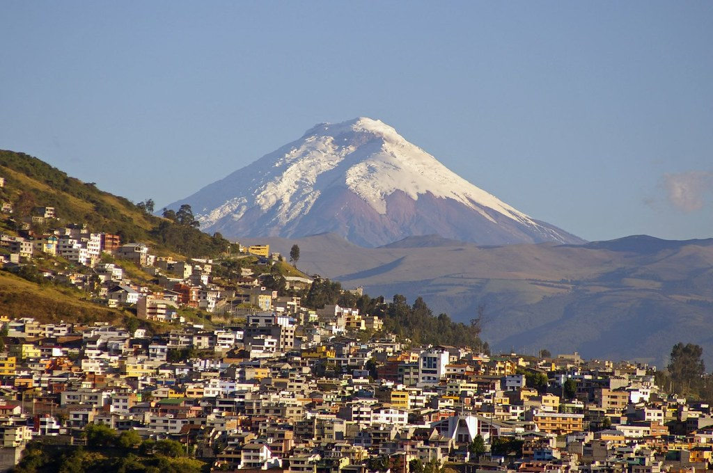 Tourist Map Quito Ecuador – Ecuador Tourist Attractions Map