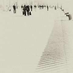 On White (EudaldCJ) Tags: barcelona bw album explore squareformat urbana catalunya 500x500 2bdasest hourofthesoul mmmilikeit