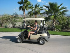 Golf Cart in Paraiso del Mar