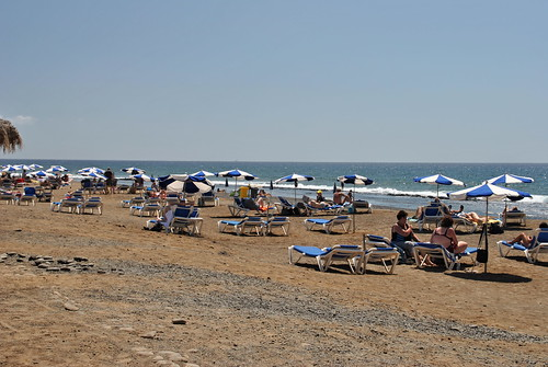 Playa y gente