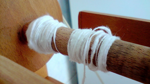 experiment: spinning cottonwool