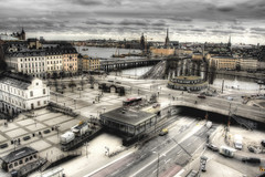View of Stockholm. Vista de Estocolmo (J. A. Alcaide) Tags: streets water buildings edificios agua europa europe sweden stockholm views vistas estocolmo calles suecia