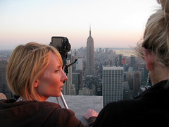NEW YORK STORIES (13): TOP OF THE ROCK (Andr Pipa) Tags: nyc newyorkcity usa newyork skyline america manhattan eua empirestatebuilding topoftherock observationdeck panoramicview anneheche rockfellerplaza riverhudson nycseries