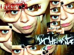 Remelanie Ann (að eilífu) Tags: black me myself nail polish romance bitches chemical mcr remel i