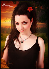 Amy Lee - Autumn Leaves (Kervin R.) Tags: photomanipulation amy bad romance teen lee omar regalo cabello rojas genial kervin