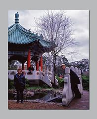 Album Cover (RZ68) Tags: park portrait lake 120 me ian temple golden gate san francisco image group chinese gazebo betty velvia photograph junior haha 6x7 provia chamberlain stow rz67 e100 rz68