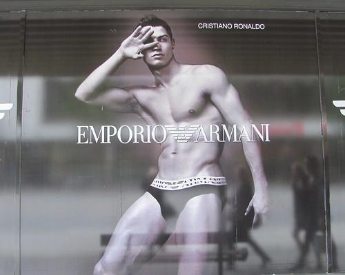 ronaldo cristiano armani ad. Cristiano Ronaldo#39;s Armani Ads