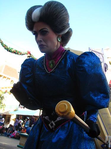 A Christmas Fantasy Parade on Main Street USA