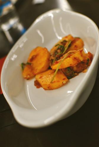 Persimmon Kimchi!