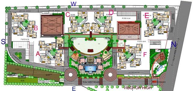 Teerth Towers, Baner-Sus, Layout Plan