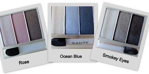 Sante Eyeshadow Trios