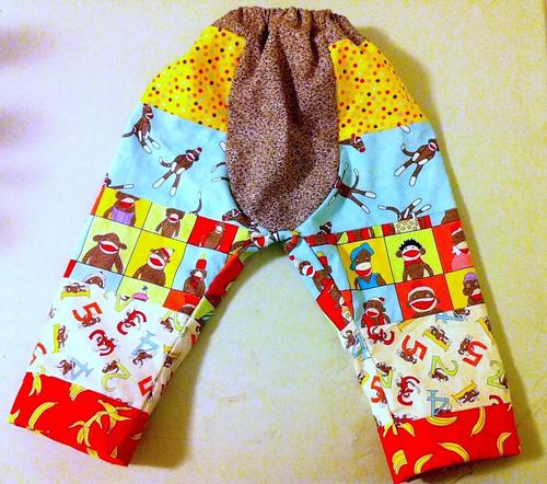 Monkey pants!