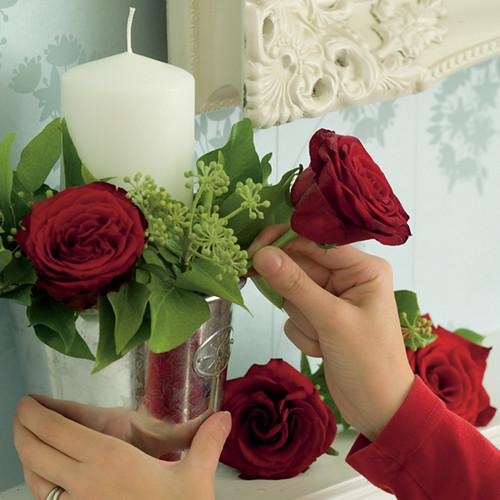 christmas wedding ideas 3 Flower basket
