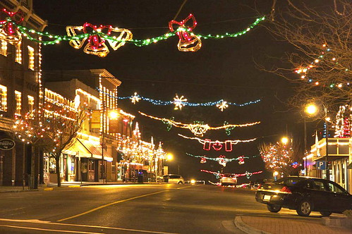 Ladysmith Christmas Lights