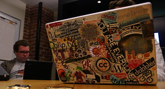 Sticker Envy (psd) Tags: sanfrancisco california usa apple mac web stickers web20 conference openspace supernova kaliya identitywoman shannonclark supernova2007 upcoming:event=202241