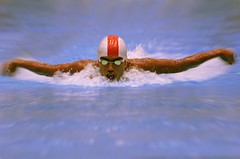 The butterfly Swim (M.ALKHAMIS) Tags: sports water    malkhamis