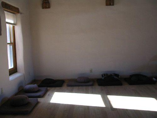 Just Sitting, Mabel Dodge Luhan House, Taos, New Mexico,photo © 2007 by QuoinMonkey. All rights reserved.