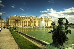 Chteau Versailles (|neurosis|) Tags: travel paris france fountain gardens canon europe parks palace versailles palais chteau hdr holidaysvacanzeurlaub travelerphotos