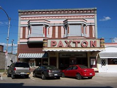 Paxton, IL Paxton Theater (army.arch) Tags: pink cinema theater downtown neon il movietheater baywindow paxtonillinois