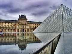 Musée du Louvre - HDR, Museum, Paris