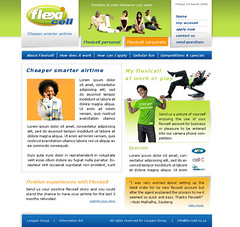 """Flexicell homepage design proposal • <a style=""""font-size:0.8em;"""" href=""""http://www.flickr.com/photos/10555280@N08/971848711/"""" target=""""_blank"""">View on Flickr</a>"""