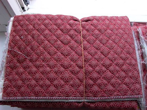 quilted fabric star