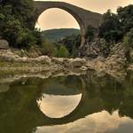Pont de Llierca, a la Garrotxa el 10/08/07 paisatge Landscape