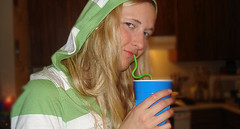 Baby Lynn 2 (theOrphanator) Tags: hot sexy hoodie blond blonde thirsty sip
