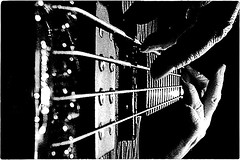 ... a bass guitar (*melkor*) Tags: bw music art geotagged bass melkor perfectangle fiveflickrfavs