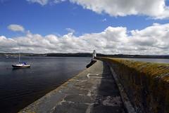 the harbour at Ardrishaig