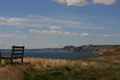 Have a Seat (matzoe) Tags: england sky grass view 2007
