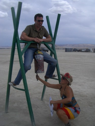 Robyn Loses His Burning Man Virginity