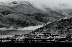 Mystical Village (Luo Shaoyang) Tags: china wallpaper bw nature landscape nikon scenery tibet microsoft geography    madeinchina    luo      nikond200         luoshaoyang