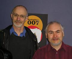 AUTHOR SEAN MCMULLEN AND BROADCASTER ROB JAN- SEPTEMBER, 2007- ZERO-G: SCIENCE FICTION, FANTASY & HISTORICAL RADIO SHOW, 3RRR FM. (zero g) Tags: radio australia melbourne victoria robjan sciencefiction zerog robertjan thisisme publicradio theflickys seanmcmullen radioheads 3rrrfm scificatchall melbourneandbeyond allthingsliterature threetripler literaturehoedown threetriplerfm flickrcentraluncensoredwootwootwoot scfibuffsunleashed portrait|poetswriters