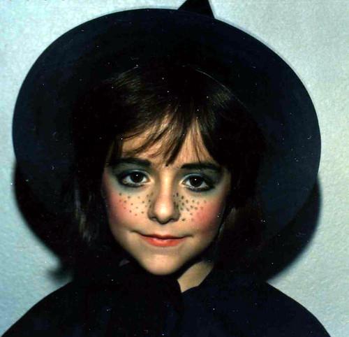 Maquillaje De Brujas Maquillaje De Bruja Para Halloween Bruja - Maquillaje-bruja-para-nia